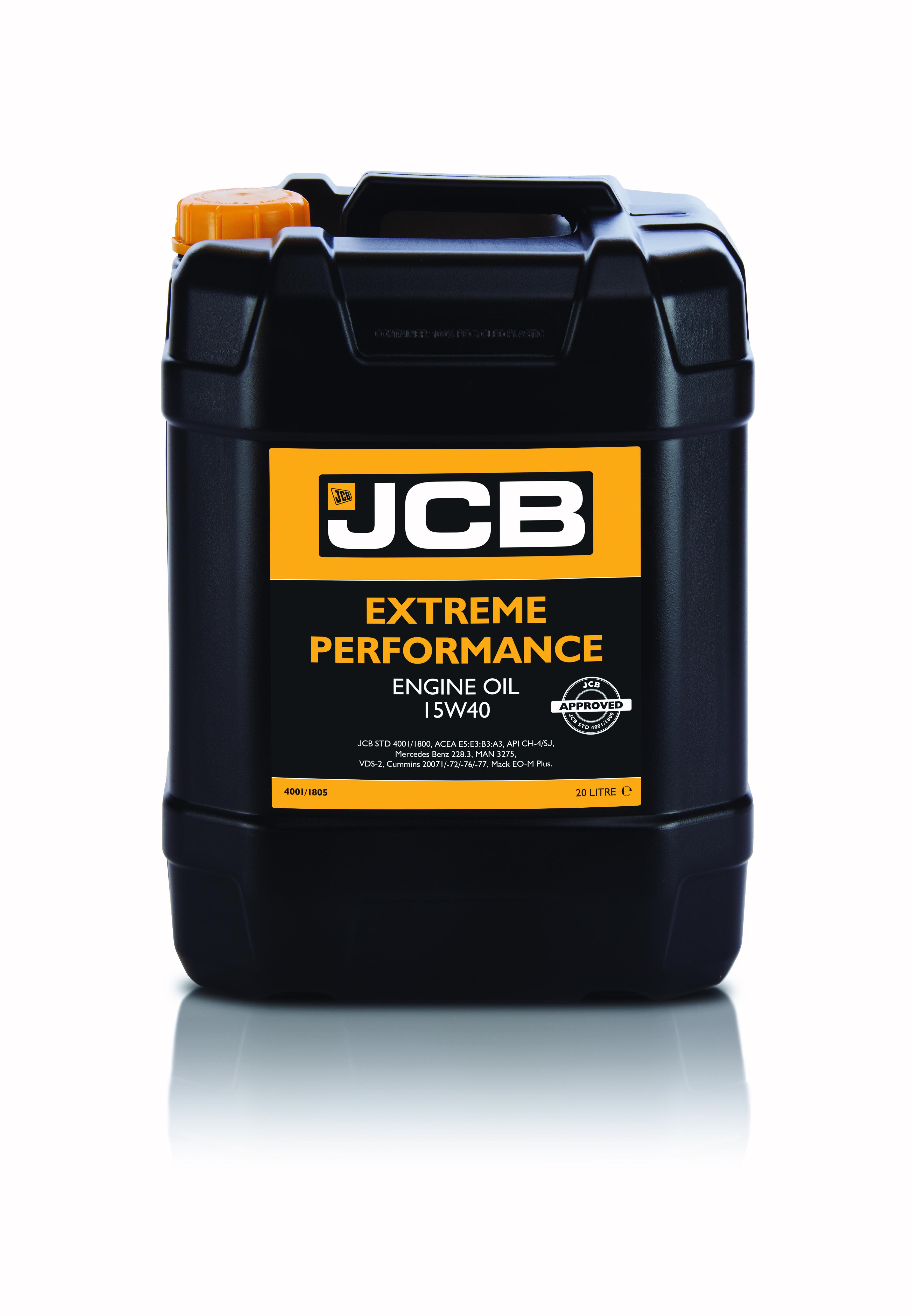 Aceite Motor JCB